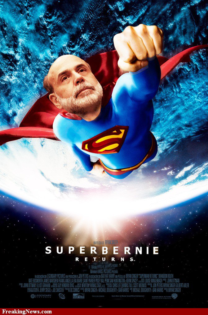 Ben Bernanke : QE 3 vers l'infini et au-delà !