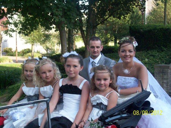 mariage de stef et pépétte le 8 septembre 2012