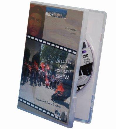 DVD La lutte de la fonderie SBFM par KSC Production