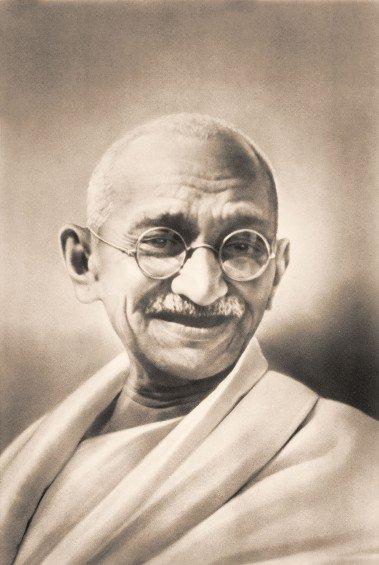 Gandhi a dit…
