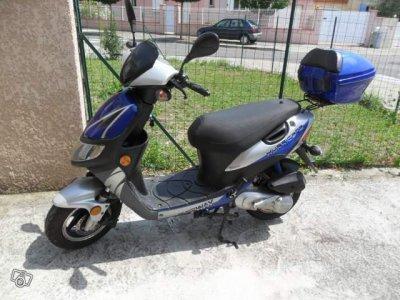 scooter keeway hurricane 50cm3