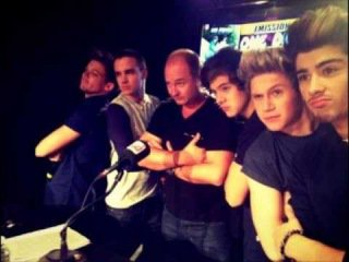 One Direction chez Cauet. / One Direction in Cauet.