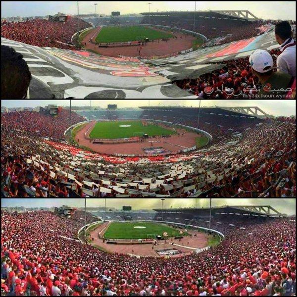 ِجماهير نادي الوداد الرياضي : وينرز - curva nord Casablanca Winners