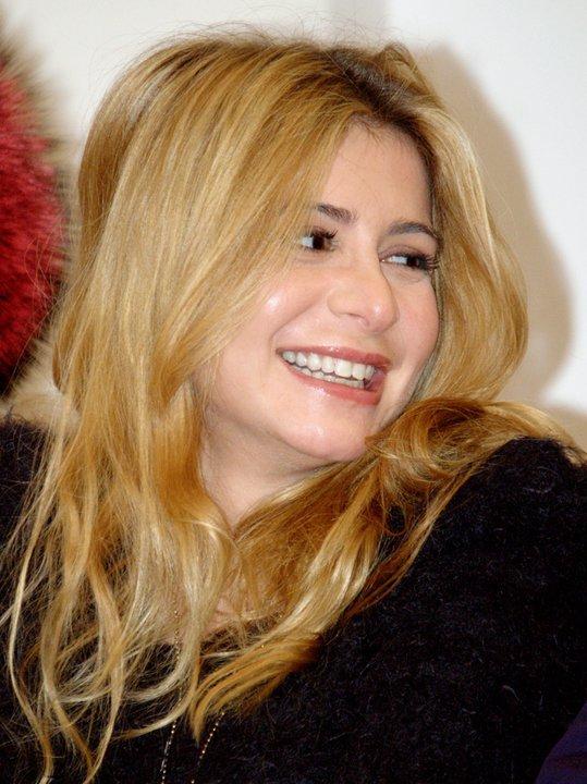 julie et  La troupe de Notre Dame de Paris  Conférence de presse à Moscou  le 11 décembre 2010