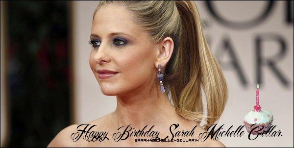 Un ans de plus pour notre actrice qui fête ses 36 ans !