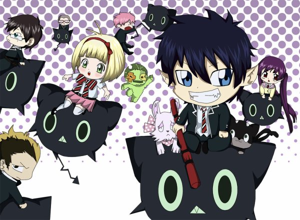 Blue Exorcist ou Ao No Exorcist