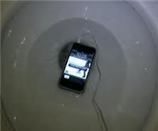 Petit accident avec les toilettes