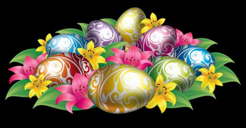 Bonne fête de Pâques.- BISOUS