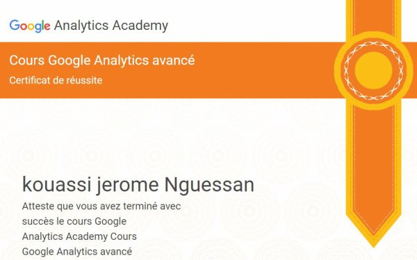 INITIATION ET FORMATION EN MARKETING DIGITAL AVEC DIPLOME GOOGLE