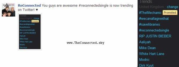 Les ReConnected vous remercie ♥