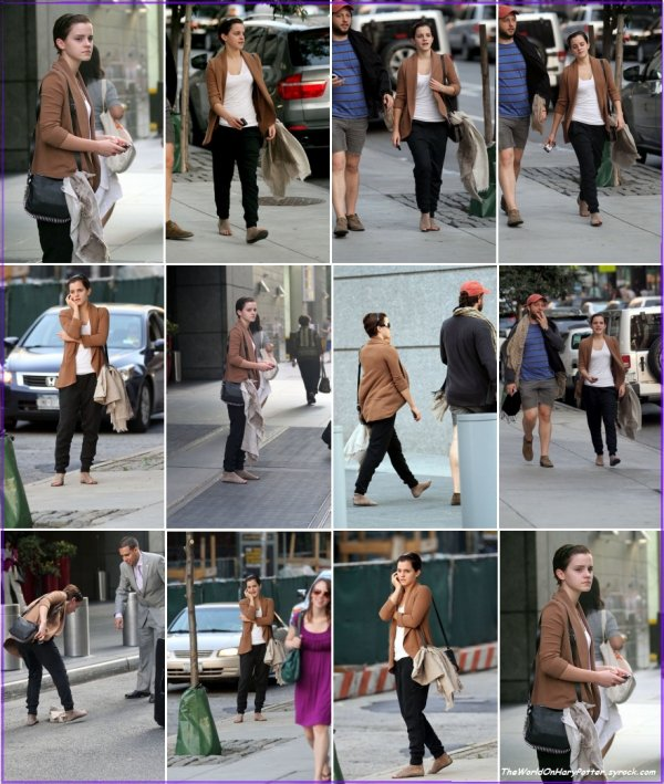 15/07/11 : Emma quitte New York pour Los Angeles