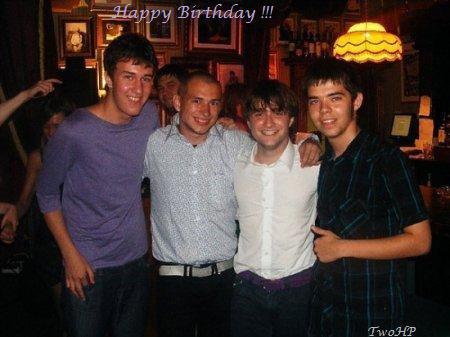 Joyeux anniversaire Daniel !