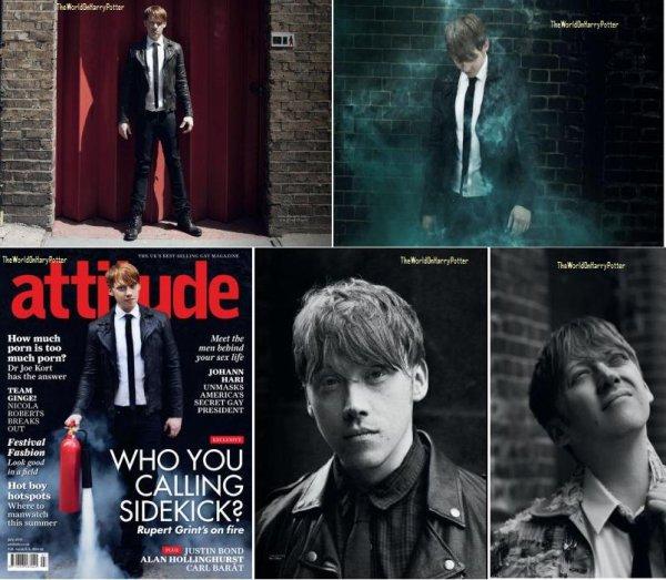 11/08/11 : Les derniers photoshoots que Rupert a réalisé.