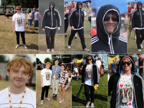 23/08/11  : Rupert etait present ce week-end au festival en Angleterre.