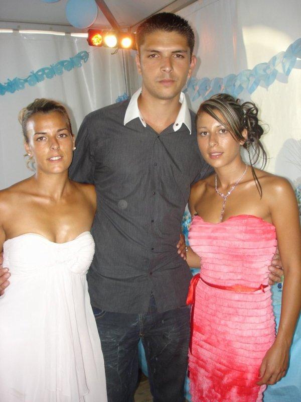 mon cousin et mes 2 cousine de corse