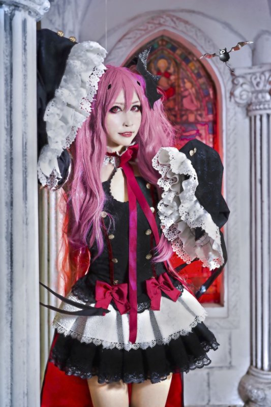 cosplay fille  kawaii dentelle :3