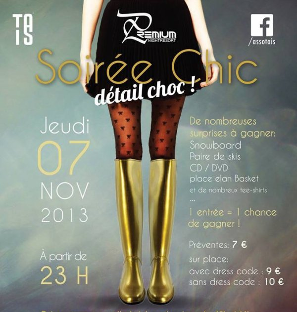 Soirée Chic Détail Choc  @PREMIUM CHALON