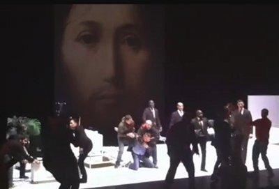 Interview d'un Catholique présent aux manifestations contre la pièce de Castelluci
