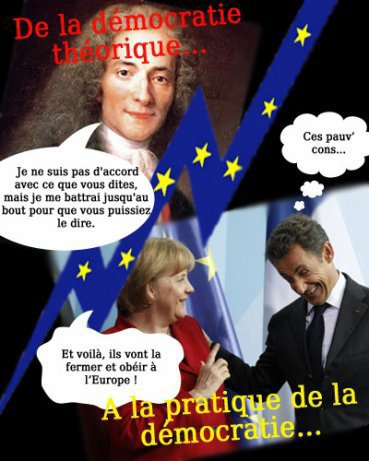 Réflexions sur l'illusion démocratique dans l'Union Européenne et en France