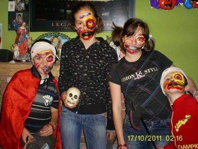 halloween 2011 jess matth kim topher en zombies