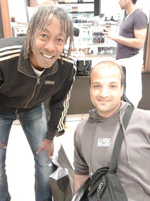 Jackson Richardson et Moi !!!
