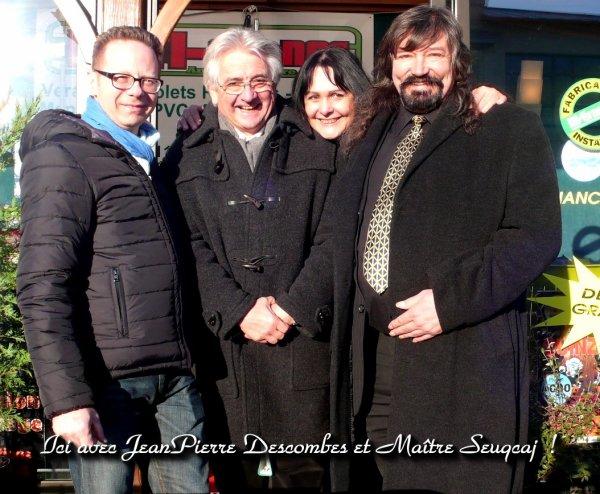 Souvenirs avec Jean Pierre Descombes et Maître Seuqcaj !