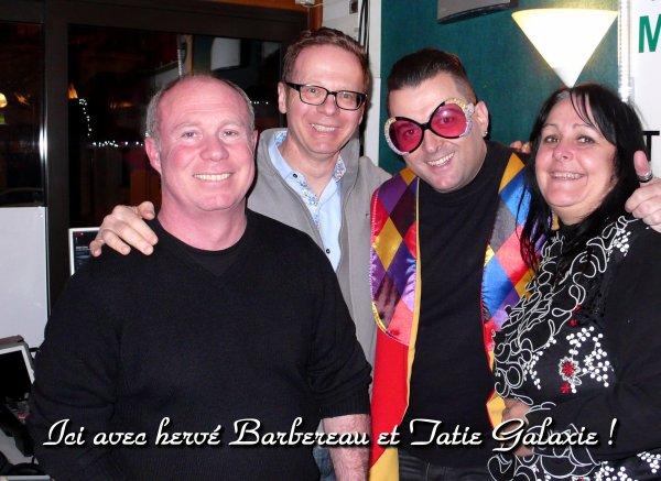 Hypnose et rigolade avec Hervé Barbereau  et Tatie Galaxie !