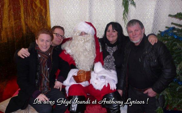 Même Anthony Lyricos et Gégé ont cru au Père Noël