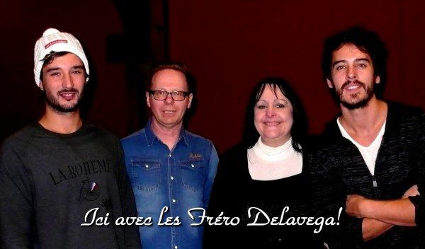 Improvisation avec les Fréro Delavega