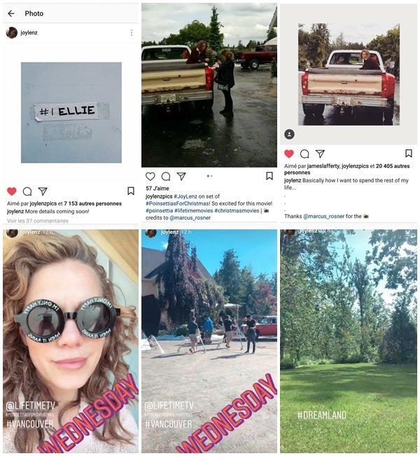 """23 Mai au 5 Juin 2018 - Bethany est sur le tournage de son nouveau film de Noel  """"Poinsettia"""""""