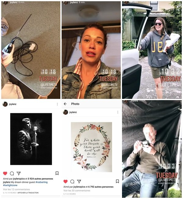 """5 Juin 2018 - Bethany était sur le tournage de son nouveau film pour Noel """"Poinsettia"""". C'était son dernier jour de tournage"""