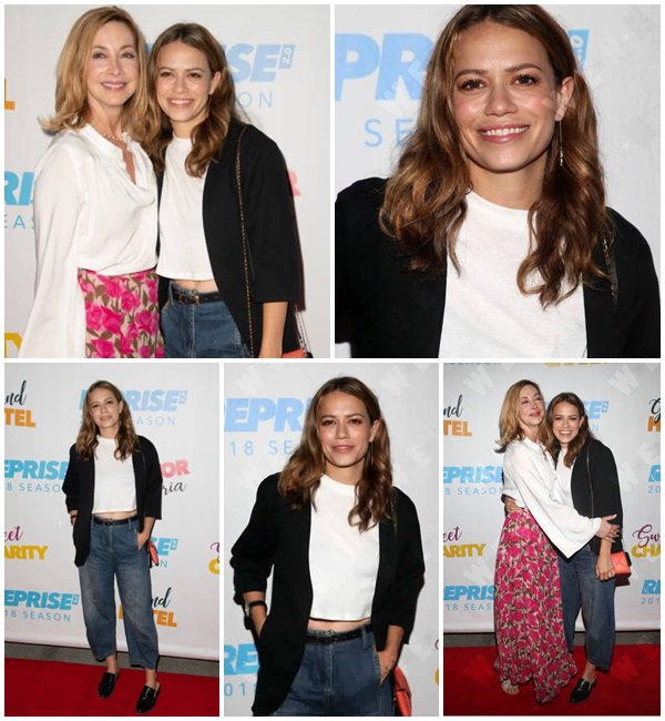 "20 Juin 2018 - Bethany était présente au ""sweet charity opening night performance"""