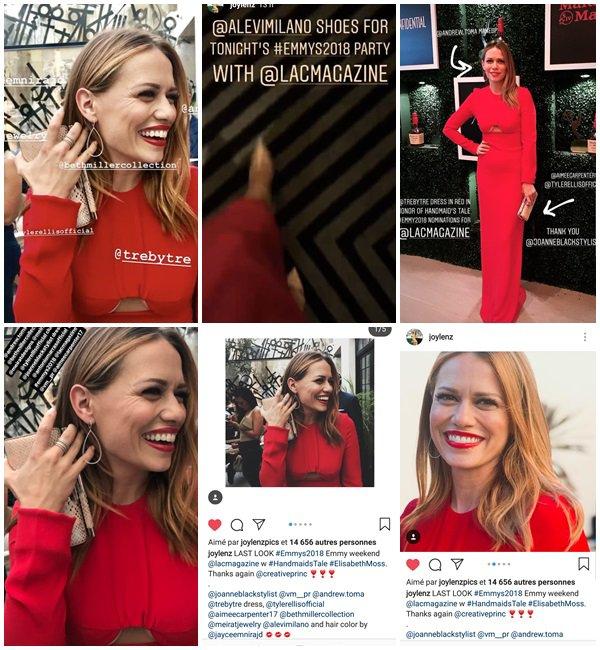 16 Septembre 2018 - Bethany a la soirée LACMAGAZINE pour les Pre Emmy 2018