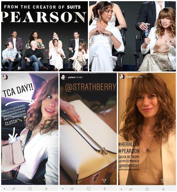 """29 Janvier 2019 - Bethany était au TCA Winter Press Tour pour la série """"Pearson"""""""
