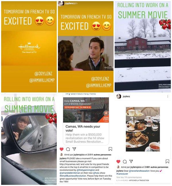 """Du 14 au 19 Février 2019, Bethany a posté sur son Instagram. Elle est en ce moment sur le tournage de son nouveau film """"Message In A Bottle"""". Elle joue le rôle de Abbey"""