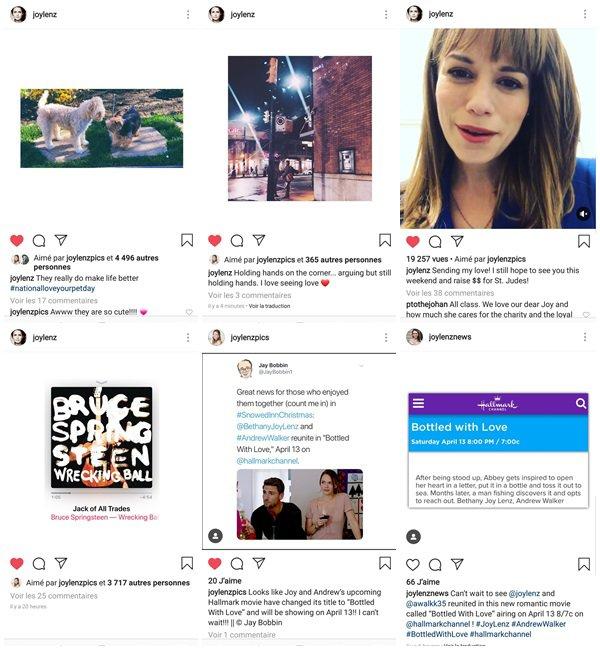 """Du 21 Février au 6 Mars 2019, Bethany a posté sur son Instagram. Elle est en ce moment sur le tournage de son nouveau film """"Bottle with love"""" qui sort le 13 Avril 2019."""