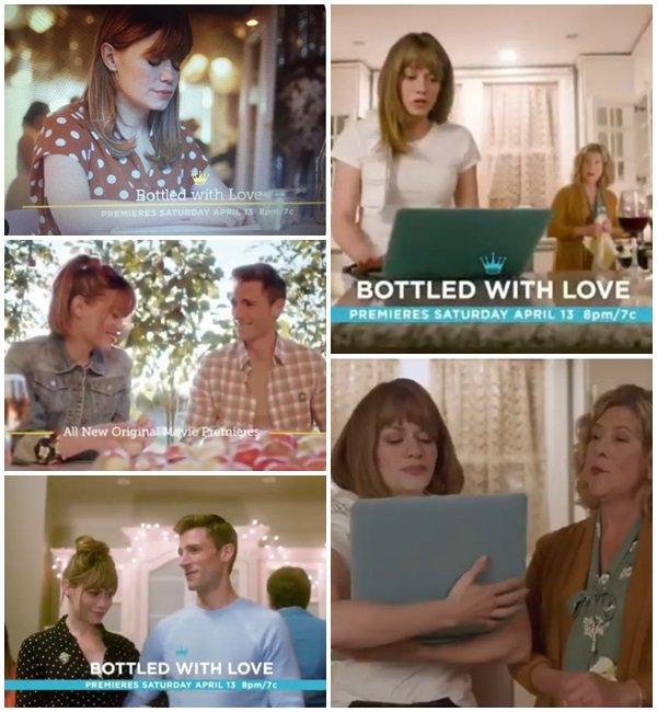 """Voici une vidéo et les photos du nouveau film de Bethany """"Bottle With Love"""" qui sort le 13 Avril 2019"""