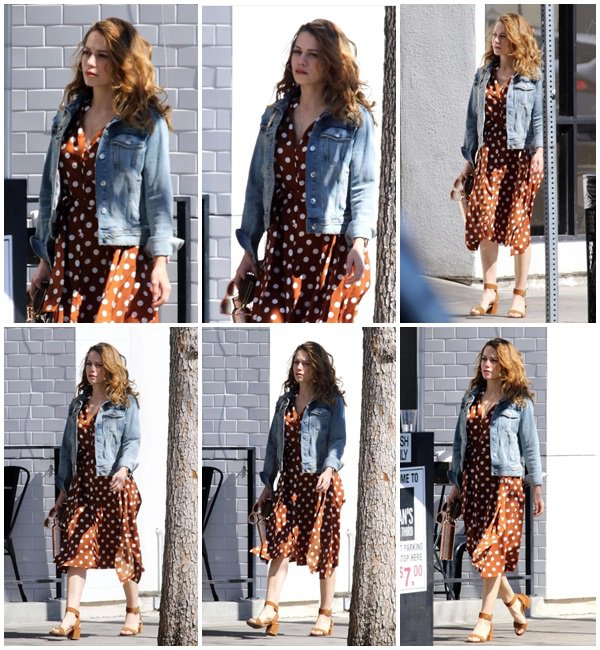 15 Mars 2019 - Bethany se promène dans les rues de Los Angeles