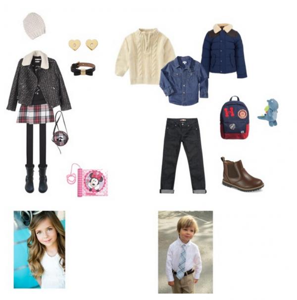 Exemple tenue numéros #3 Enfant