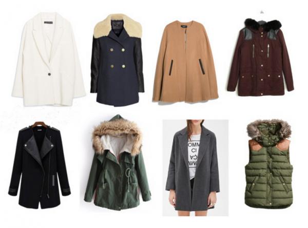 Manteau, Parka, Cape tendance a shopper dès maintenant