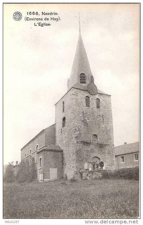 1666-Nandrin.(Environs de Huy)L'Eglise.