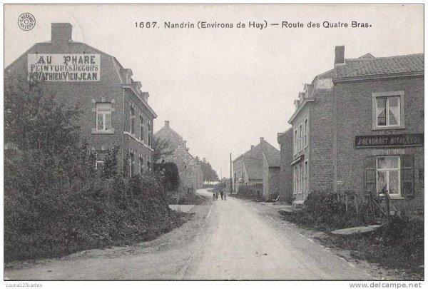 1667.Nandrin.(Environs de Huy)-Route des Quatre Bras.