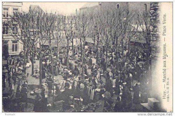 1151.Huy-Marché aux légumes - Place Verte.