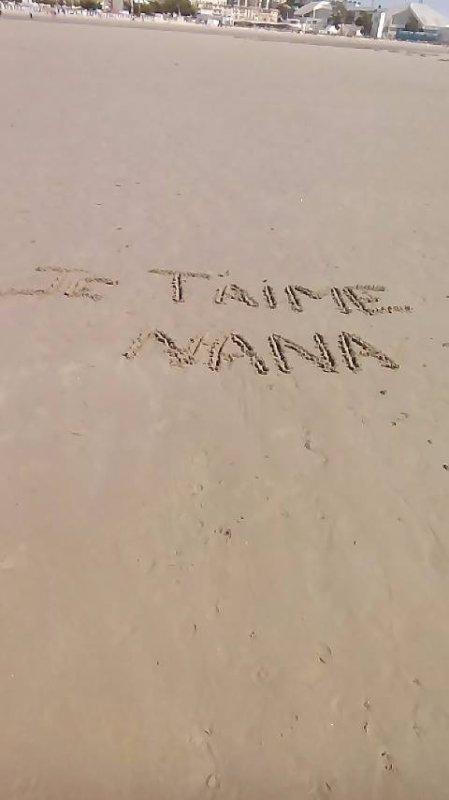ton nom dans le sable