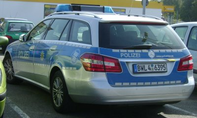 mercedes classe e de police
