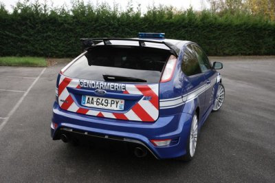 ford rs de police