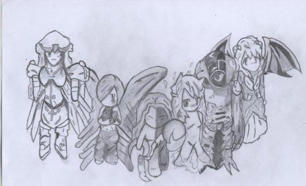 Les dessins de Chii