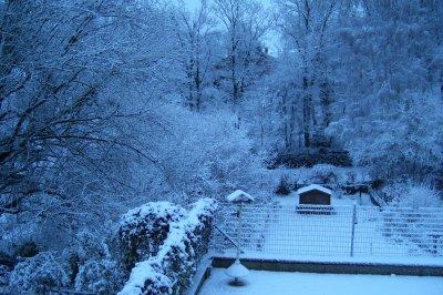 Aujourd'hui sous la neige