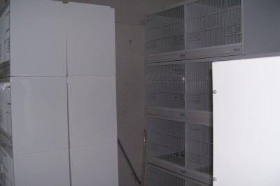 Voilà mes nouvelles acquisitions sont nettoyées cages terranzani