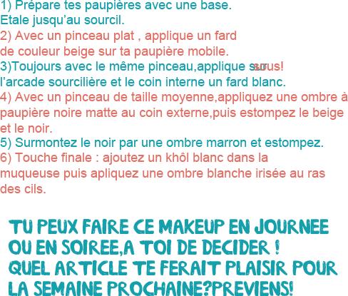 × Tutoriel make-up : Aria Montgomery ×